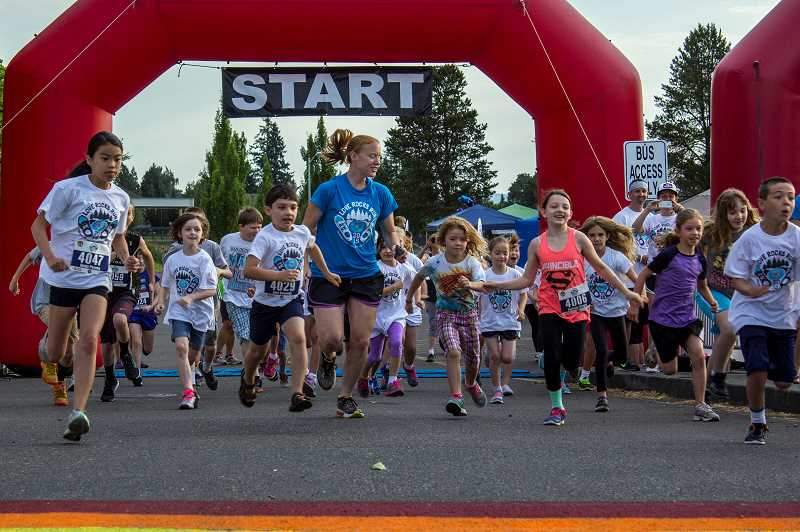 COURTESY PHOTO - The Love Rocks Run 5k Run/Walk, Kids 1k Fun Run/Walk and Community Fair will be held at Tom McCall Upper Elementary School located at 1255 S.W. Pacific Ave. in Forest Grove on Saturday, June 30 starting at 8 a.m.