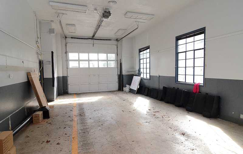 TIDINGS FILE PHOTO - Advocates say the engine bays at the station would be perfect for art classes and other activities.