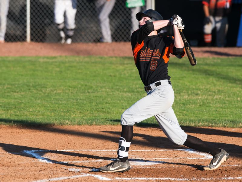FOR THE POTLIGHT: AARON YOST - J.C. Gross, a graduated senior from Scappoose, helped the North team sweep three straight games from the South in the Class 4A All-Star Series in Roseburg on June 16-17.