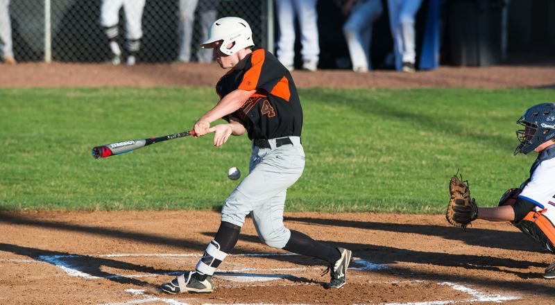 FOR THE SPOTLIGHT: AARON YOST - Jerad Toman, a graduated senior from Scappoose, finished strong in the Class 4A All-State Series, going 5 for 10 at the plate with three RBIs in the three-game series in Roseburg.