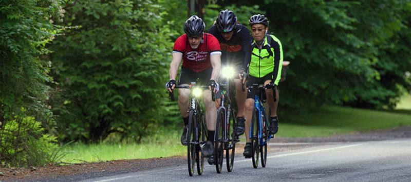 PHOTO COURTESY STUMPTOWN IMAGES - Riders in the third annual Columbia Century Challenge rode between 82-112 miles during the June 16 event, which led participants across some of the county's most scenic rural roads.