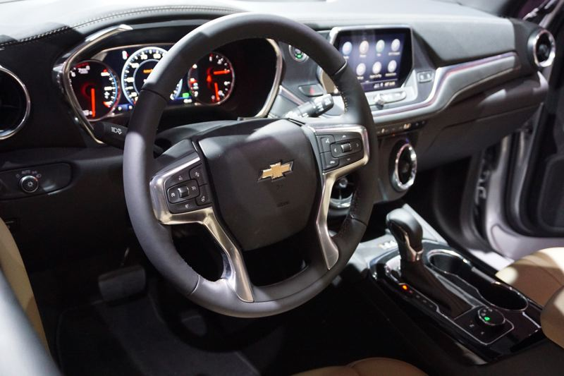 PORTLAND TRIBUNE: JEFF ZURSCHMEIDE - The new Blazer is designed to be tech-friendly, with features including an 8-inch touchscreen interface that supports Android Auto and Apple CarPlay, in addition to Chevrolet's standard 4G/LTE data support with wi-fi in the vehicle.