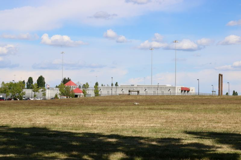 PORTLAND TRIBUNE: ZAYNE SPARLING - The federal correctional insitution in Sheridan, where more than 100 immigrants are being detained.