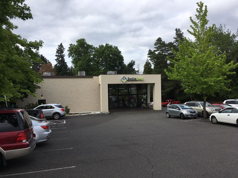 THE TIMES: PETER WONG - The redemption center operated by the Oregon Beverage Recycling Cooperative at 9307 S.W. Beaverton-Hillsdale Highway. Neighboring landowners have challenged Beaverton's administrative decision to permit the center as an allowable use in a community service zone.