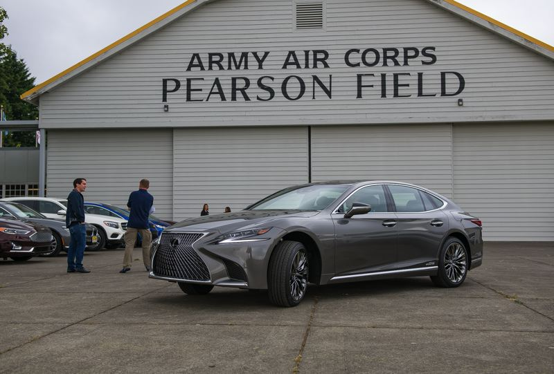 DOUG BERGER/NWAPA - The 2018 Lexus LS 500h, which was named Northwest Luxury Green Vehicle of the Year.