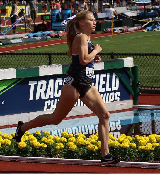 COURTESY PHOTO - Taryn Rawlings finished in sixth place in the 1,500-meter race at the NCAA Championships on June 9.