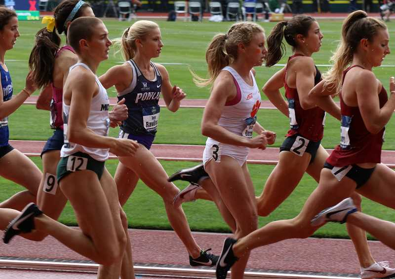 COURTESY PHOTO - Rawlings battled from the rear of the pack, moving from ninth place to sixth place to become an all-American.
