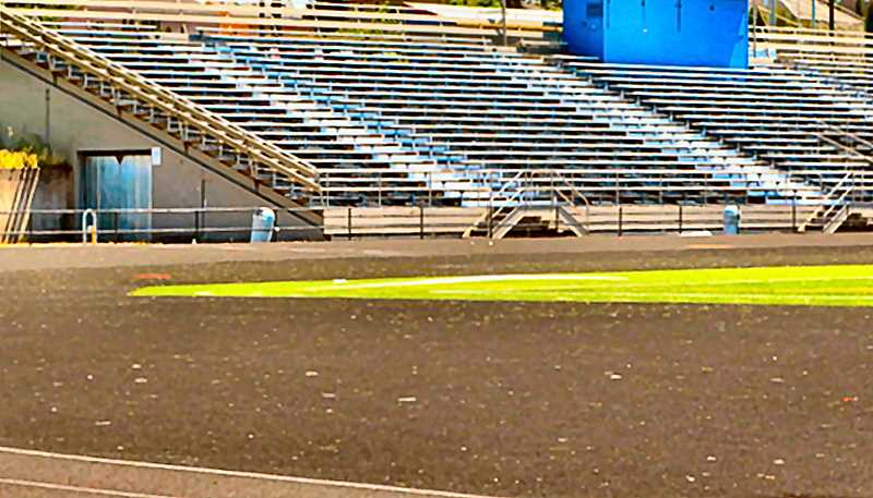 DAVID F. ASTHTON - The body of 30-year-old Barak Rosen was found here, on the track, near the grandstands.