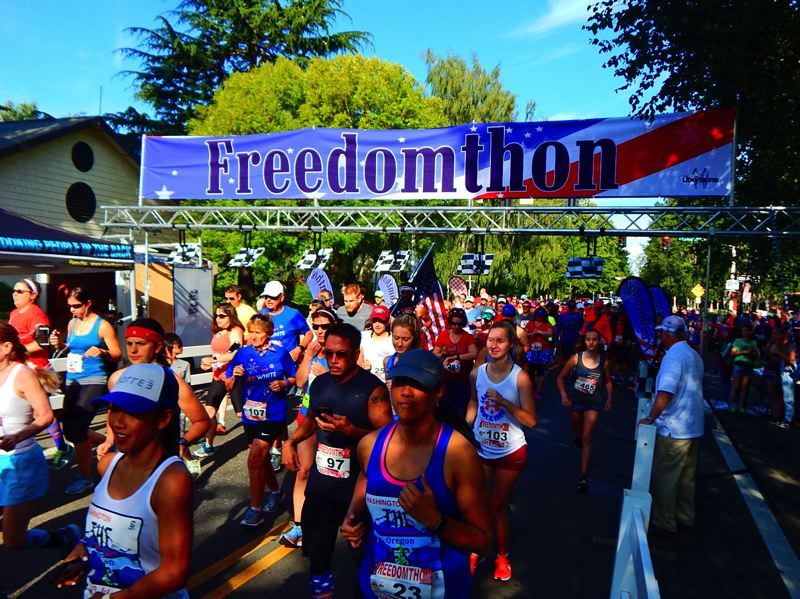 PHOTO: CITY OF BEAVERTON - A race, live music, food and more will usher in the Fourth of July in Beaverton.