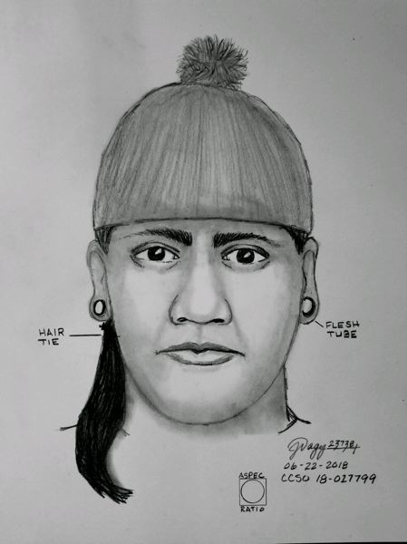 CONTRIBUTED PHOTO: CLACKAMAS COUNTY SHERIFF'S OFFICE - The suspect of an attempted kidnapping in Welches is described as a young Hispanic or Native American man, 6-feet-0  with long, dark braided hair and a slender build.