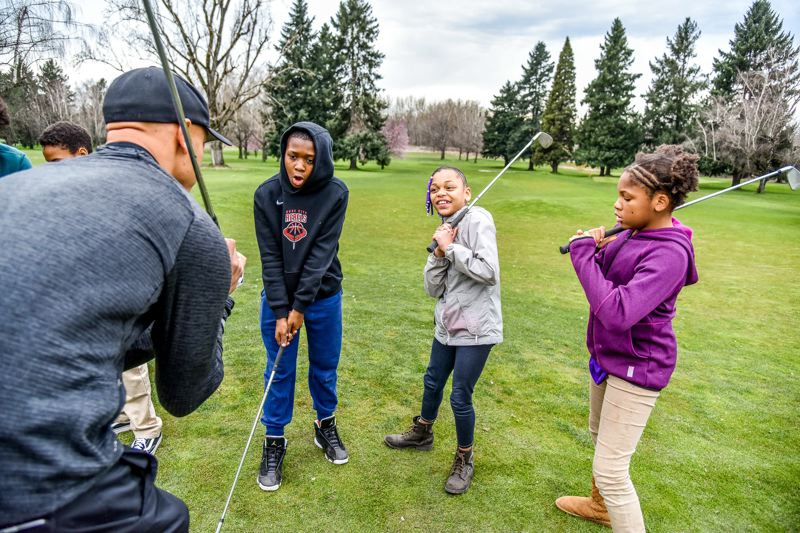 COURTESY: BEN BRINK/PP&R - Kids will be given the opportunity to play free golf this summer at two Portland golf courses.