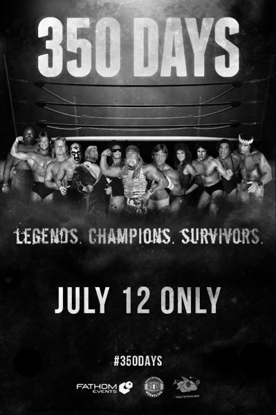 COURTESY: FATHOM EVENTS - The documentary '350 Days,' about pro wrestling, screens at local theaters, July 12.