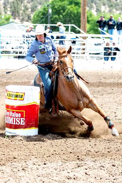 LON AUSTIN - Hope Luttrell will advance to the National Rodeo finals.