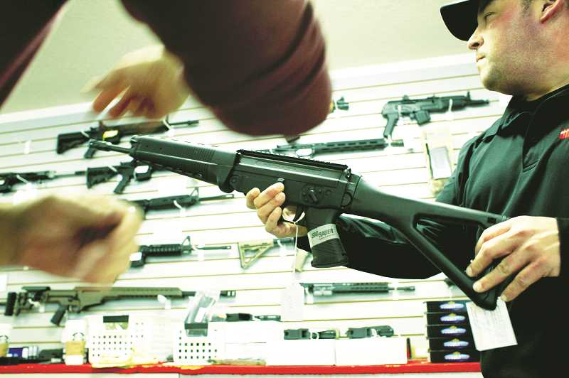PMG FILE PHOTO - A Yamhill County group has filed an initiative designed to protect constitutional gun rights from state and federal governments.