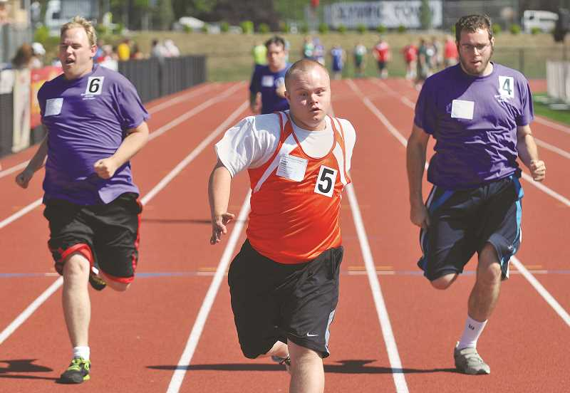 GRAPHIC FILE PHOTO - Special Olympic's Summer State Games enjoyed a four-year run in Newberg before being moved to Corvallis in 2017.