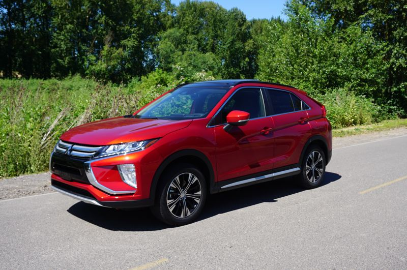 PORTLAND TRIBUNE: JEFF ZURSCHMEIDE - The all-new 2018 Eclipse Cross is a well-designed SUV from Mitsubishi that is packed with value and features, including optional all-wheel-drive.