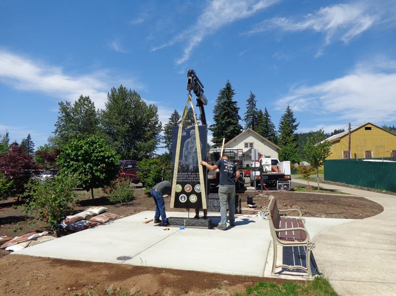 CONTRIBUTED PHOTO: STEVE BATES - The dedication of the Boring, Oregon Vietnam Memorial is set for POW-MIA Recognition Day on Sept. 21.