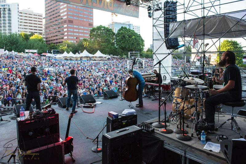 COURTESY: WATERFRONT BLUES FESTIVAL - Stages at the Waterfront Blues Festival at Waterfront Park will be bustling with entertainment, July 4-7.