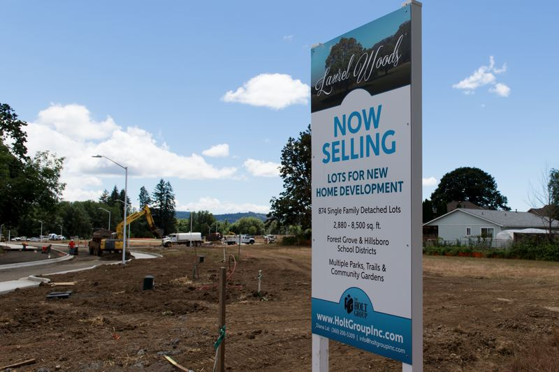 STAFF PHOTO: CHRISTOPHER OERTELL - Laurel Woods is the largest planned development in the history of Cornelius, expected to add around 3,000 residents to the city's population over the next five to seven years.
