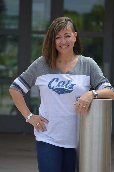 SPOKESMAN PHOTO: CLARA HOWELL  - BJ Cerny is the athletic secretary at WHS and teaches summer camps for dance teams mainly throughout Oregon, and still manages to do what she loves: dance.