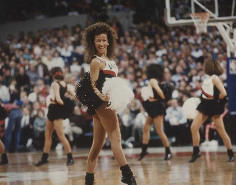 SUBMITTED PHOTO  - BJ Cerny was on the Portland BlazerDancers when the group first formed.