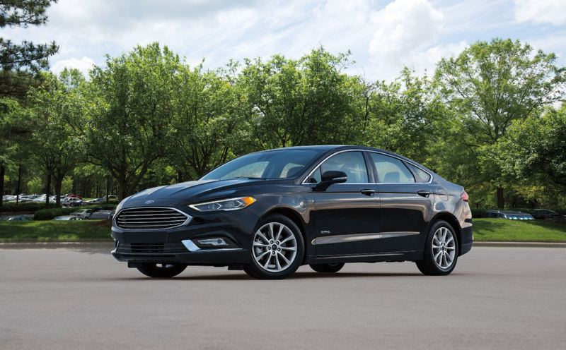 COURTESY FORD - The 2018 Ford Fusion Energi is an attractive midsize sedan with a smooth ride, plenty of room, and advanced technologies.