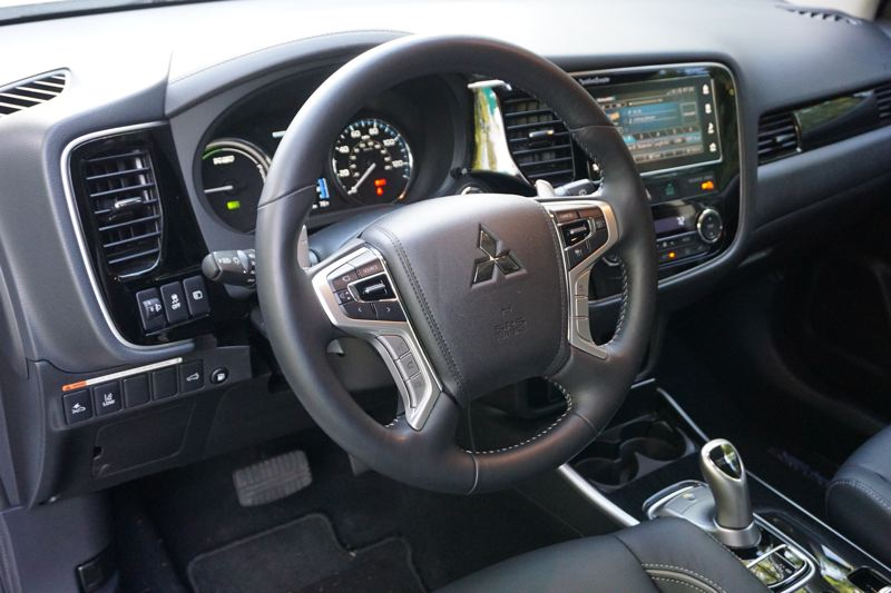 PORTLAND TRIBUNE: JEFF ZURCHMEIDE - Inside the cabin of the 2018 Outlander PHEV you will find a state-of-the-art SUV with a seven-inch touchscreen infotainment center that supports both Android Auto and Apple CarPlay.