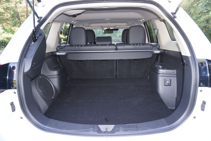 PORTLAND TRIBUNE: JEFF ZURSCHMEIDE - The battery pack does not compromise the ample cargo space in the 2018 Outlander PHEV.