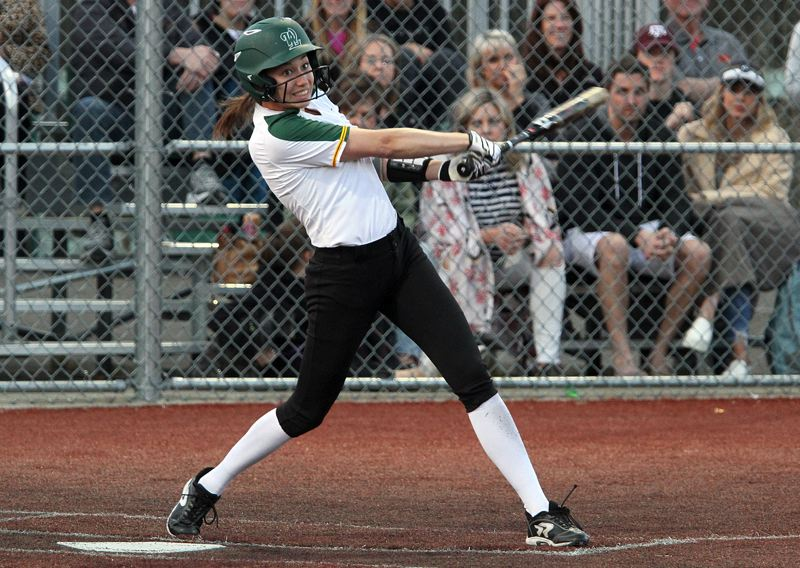 TIDINGS FILE PHOTO - Kaitlyn Lampson, a graduated senior from West Linn High School, was named to the Class 6A all-state honorable mention team last week.