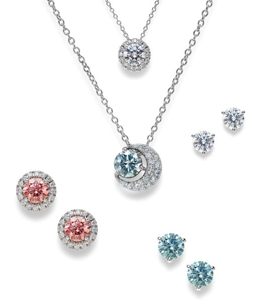 COURTESY: LIGHTBOX - A sample of the necklaces and earrings Lightbox will begin selling online in September.
