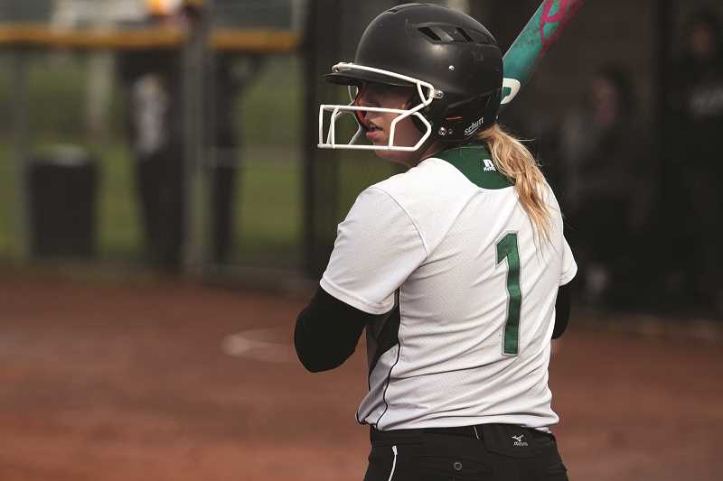 PHIL HAWKINS - Baylie, who has been named to the Oregon West Conference First Team for three straight years, hit 0.506, drove in 18 runs and scored 34 of her own, while committing just one error in 25 games on defense.