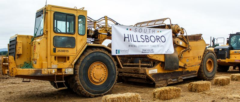 STAFF FILE PHOTO - City officials are hosting an open house Tuesday, July 10, to discuss South Hillsboro, a large neighborhood under construction near Tualatin Valley Highway and Cornelius Pass Road.