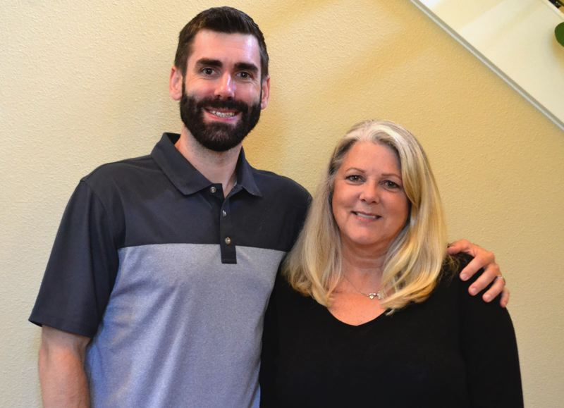 POST PHOTO: BRITTANY ALLEN - Marie Teune brought on her son Danny Teune and established the new Teune Real Estate Group with John L. Scott only a few weeks ago.