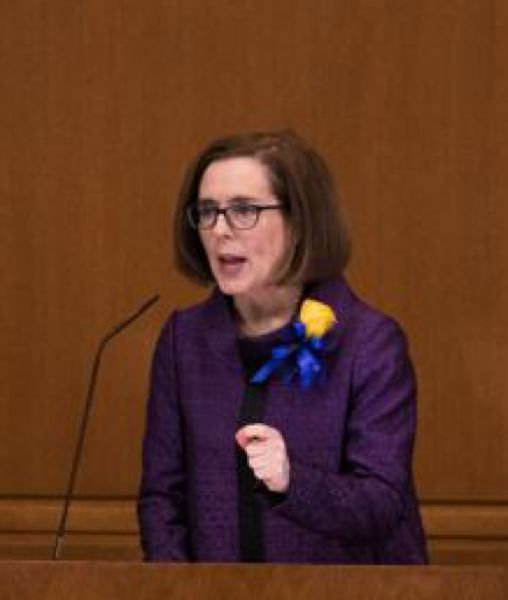 PORTLAND TRIBUNE FILE PHOTO - Oregon Gov. Kate Brown is just one of many Democratic leaders supporting unions after a major U.S. Supreme Court ruling.