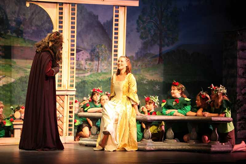 SUBMITTED PHOTO  - Broadway Rose Theatre Company will present Beauty and the Beast, a childrens musical production, playing July 11 through 14 at 11 a.m.  Performances will be held at the Deb Fennell Auditorium located at 9000 SW Durham Road in Tigard. Tickets are $12 for those over the age of 18 and $10 for those under and can be purchased by calling the Broadway Rose box office at 503-620-5262 or online at www.broadwayrose.org. This retelling of the much-loved story about inner beauty, acceptance, and love comes to life on stage with beaucoup charm and uniquely Cajun flair. Deep in the bayous of Louisiana, a girl named Angeline finds herself trapped in the castle of a fearsome beast. By learning to see and cherish his kindness, generosity, and intelligence, she learns to love him despite his grizzly appearance and makes some unexpected friends along the way. Ca cest bon! The show is perfect for little ones who love the theater or first-timers and runs approximately 50 minutes with no intermission. The audience can meet the cast after the show. Its fun for the whole family. With book and lyrics by R. Eugene Jackson and music by David Ellis, Beauty and the Beast is directed by Annie Kaiser with musical direction by Jeffery Childs. The show features an adult cast with children from Broadway Roses drama camp performing in the ensemble. Kira Batcheller will play the role of Angeline and Nate Ayers will play the Beast.