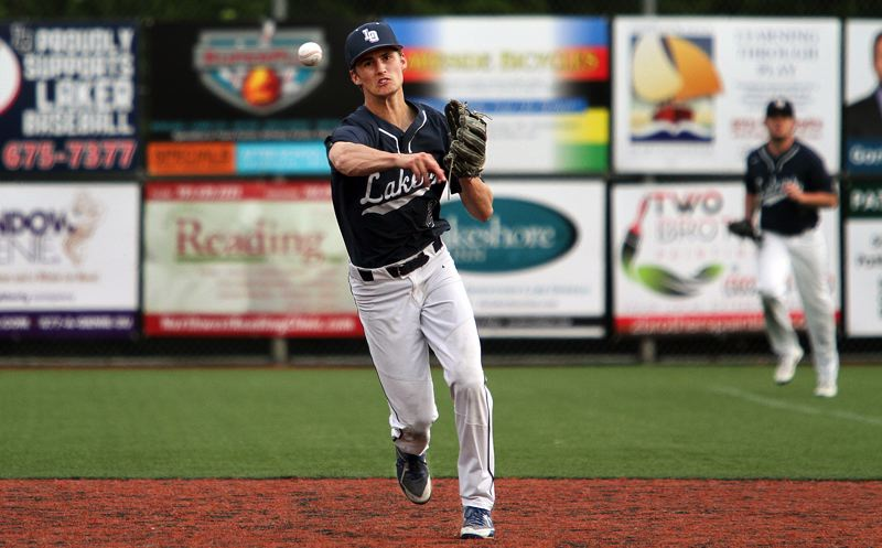 REVIEW FILE PHOTO - Lake Oswego's Jake Dukart was at the top of his game again in baseball, winning first-team all-league honors as both a pitcher and shortstop, and later, first-team all-state.