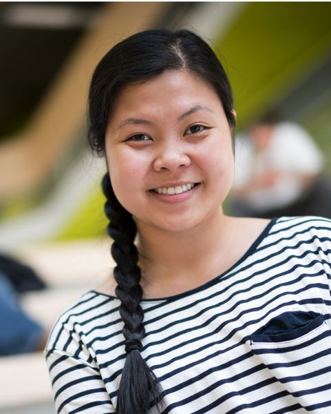 PORTLAND TRIBUNE: JAIME VALDEZ - Ha-Quyen Nguyen recently graduated from Portland State University with a double major. She credits help from the College Possible program.