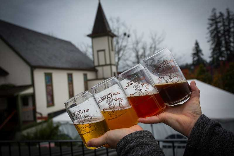 COURTESY PHOTO - Mark your calendar for the Boones Ferry Ale Fest in November.