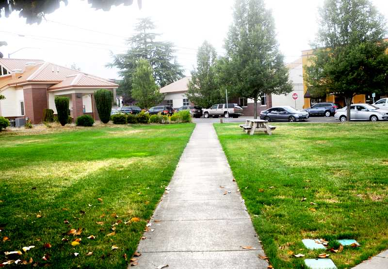 SUSAN BRANNON - The city of Newberg is seeking a contractor to develop the Butler Property on First Street.