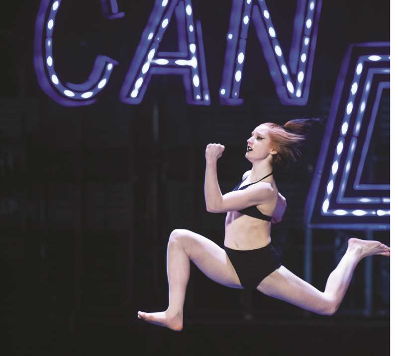 PHOTO COURTESY OF FOX TV - Bridget Derville-Teer performs during a recent audition for the show.
