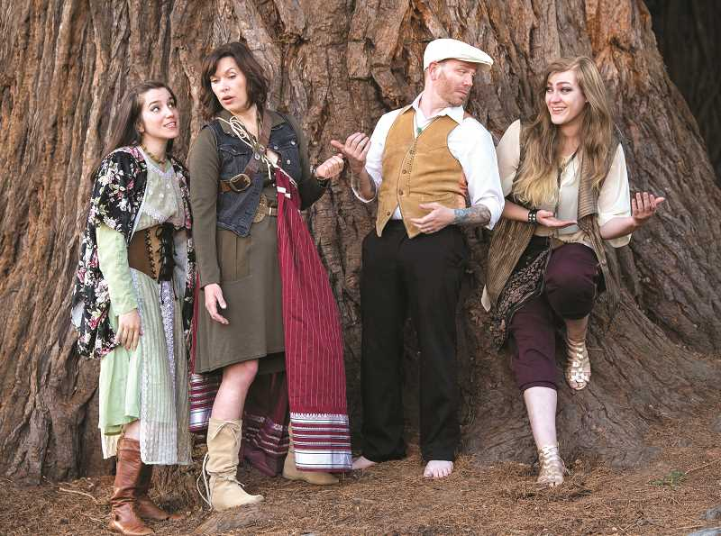 COURTESY PHOTO - Shakespeare's 'As You Like It' will perfom at Bag&Baggage's Vault Theater this month.