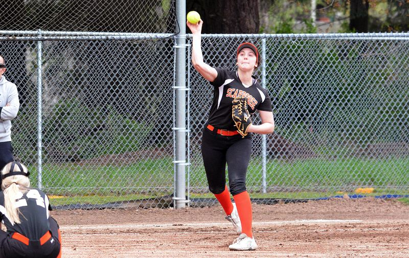 SPOTLIGHT FILE PHOTO - Graduated senior Hadley Enos of Scappoose was named to the Class 4A all-state third team and will play at Mt. Hood Community College next year.