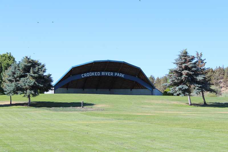 HOLLY SCHOLZ/CENTRAL OREGONIAN   - Members of First Baptist Church will meet for a service in the Crooked River Park amphitheater on Sunday morning, July 29 at 9:30. A barbecue potluck will follow at the covered area.