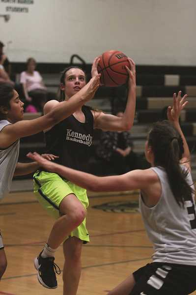 PHIL HAWKINS - After earning All-State recognition for the Kennedy softball team as a freshman, Ellie Cantu is expected to make a big impact in her sophomore season with the basketball team.