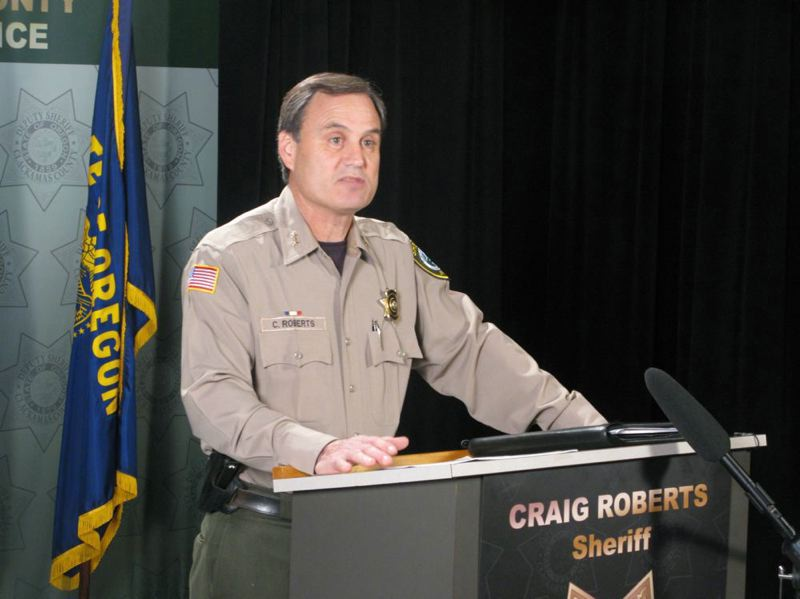 PAMPLIN MEDIA GROUP FILE PHOTO - Clackamas County Sheriff Craig Roberts says he won't attend a July 10 discussion of his office with the board of commissioners because of a lawsuit filed against the law enforcement agency.