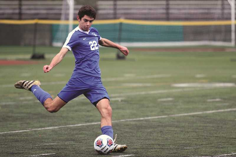 PHIL HAWKINS - Woodburn junior Riley Menezes played a key role in helping the Bulldogs win their second consecutive 5A state championship last year.