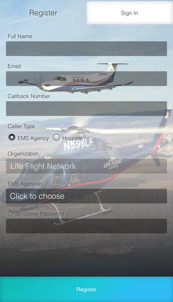 COURTESY: LIFE FLIGHT NETWORK - The LFN Respond app, launched in May, helps first responders and hospital personnel access Life Flight Network crews immediately.