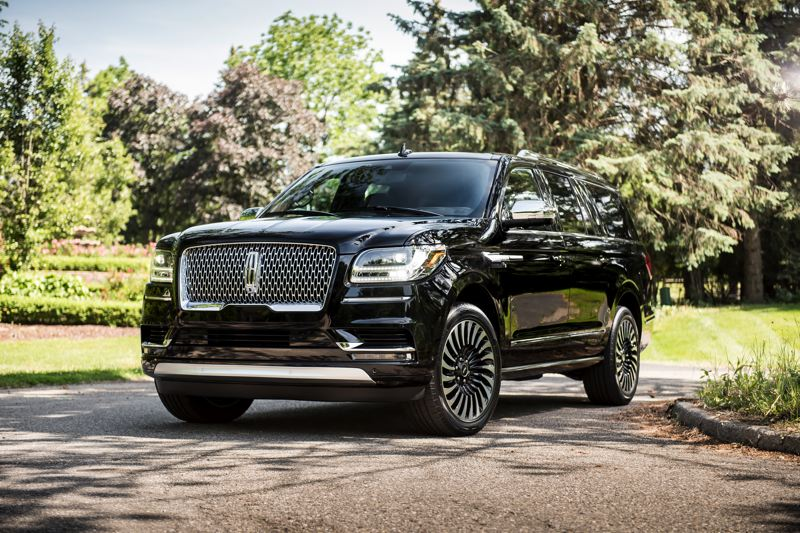 COURTESY LINCOLN MOTOR COMPANY - The completely redesigned 2018 Linoln Navigator makes a bold statement for the American luxury vehicle manufacturer and deserves to be taken seriously by anyone looking for a prestigious full-size SUV.