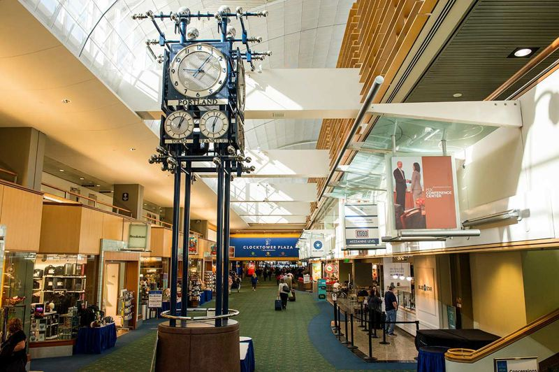 COURTESY PHOTO: PORT OF PORTLAND - PDX's selection of local vendors for both retail and food captured the No. 1 spot, again, in Travel + Leisure magazine's annual list of best domestic airports.