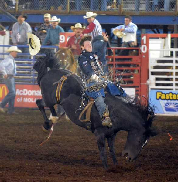 PIONEER PHOTO: TANNER RUSS - The Molalla Buckeroo was this past Fourth of July weekend, and there was plenty of action.